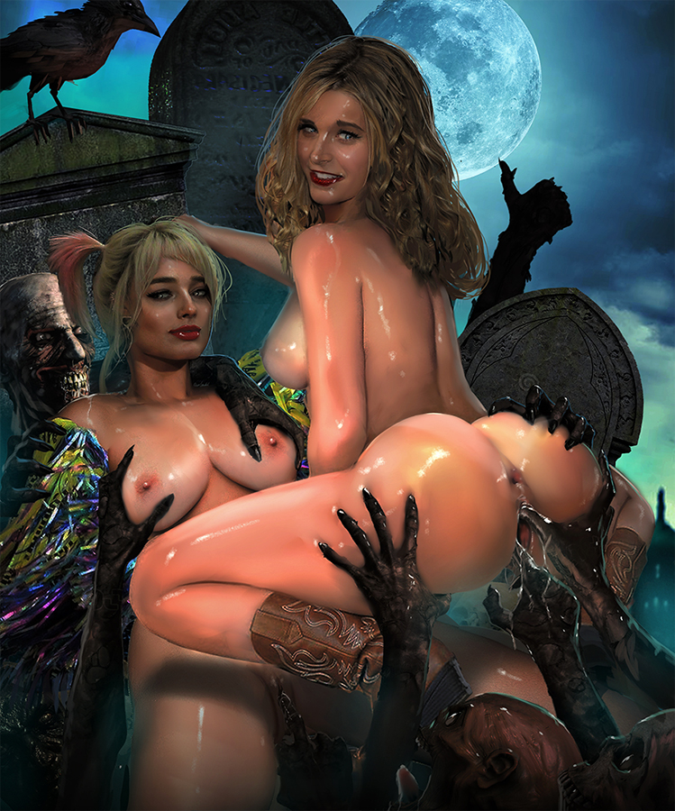 nude quinn pictures of harley Captain gantu lilo and stitch