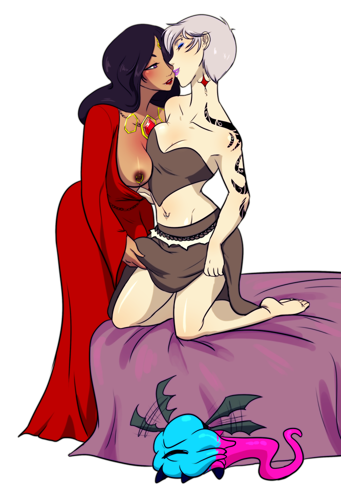my pet tentacle monster tumblr Raven and starfire lesbian sex