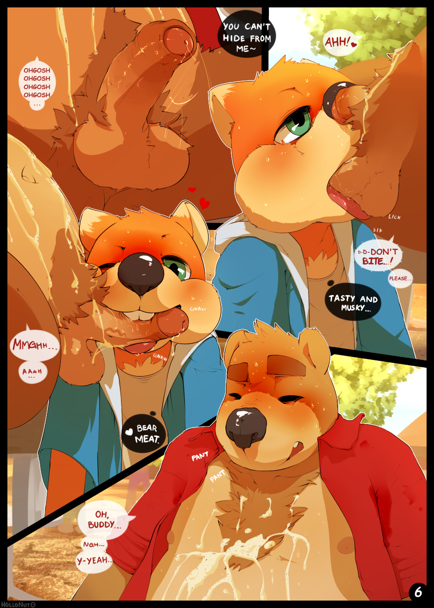 fur bad conker's day cow Legend of queen opala characters