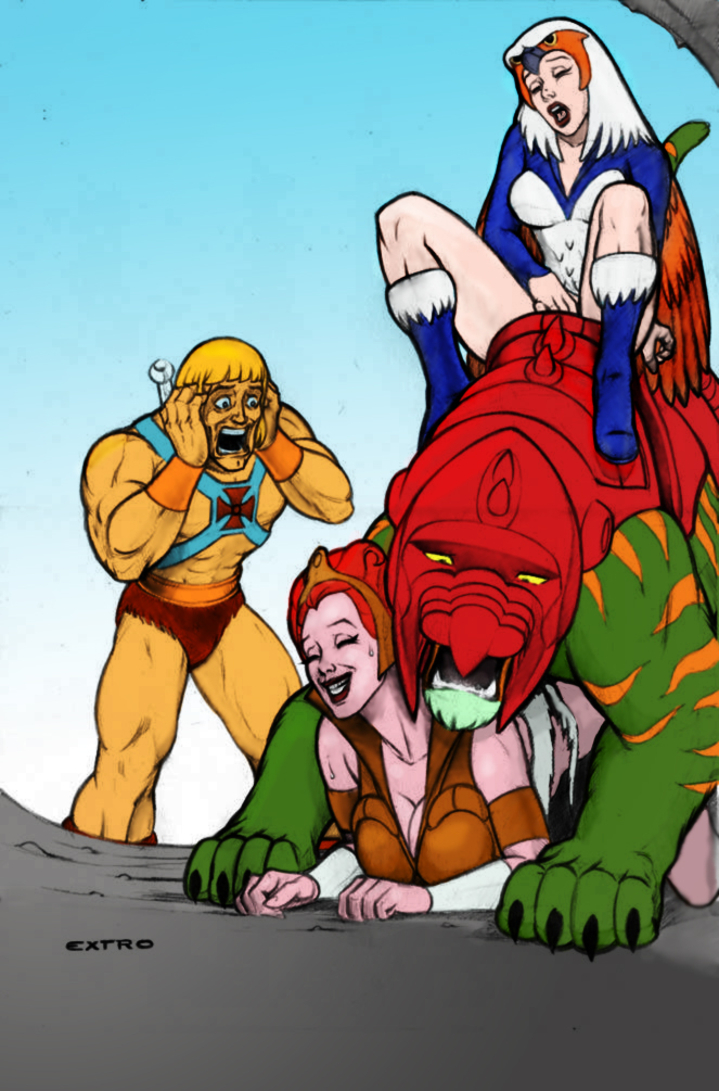 he-man Spider man web of shadows carnage