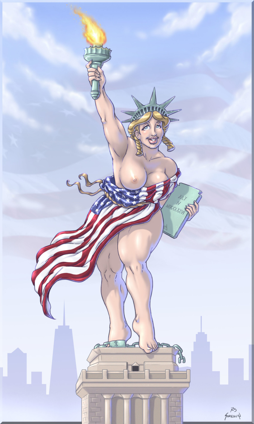kissing liberty lady justice statue of My little pony impregnation hentai