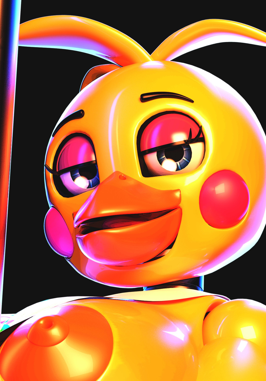 or fnaf chica toy mangle Ghost in the shell threesome