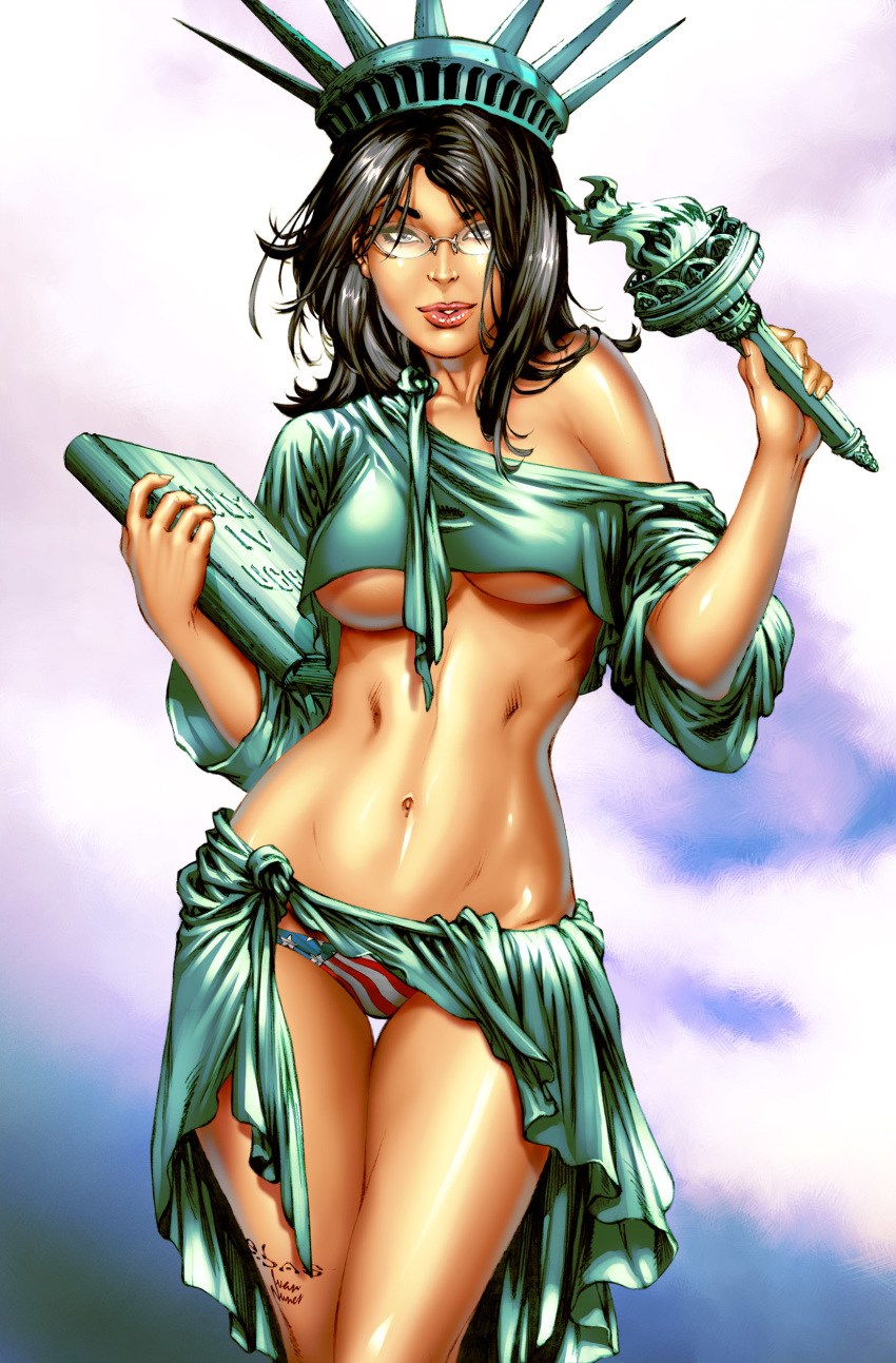 statue of justice lady kissing liberty Highschool dxd tiamat human form