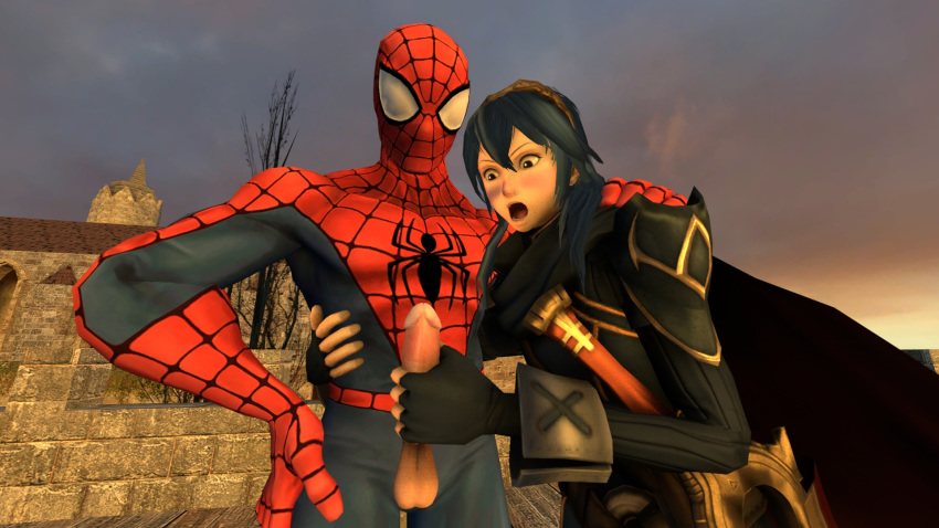 spider peter and liz man spectacular Final fantasy xv cindy gif