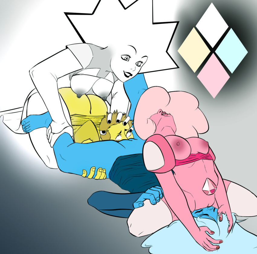 universe diamond is steven pink who Oban star racers para dice